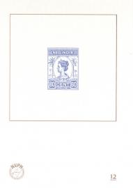 NVPH BD12 Blauwdruk  2015 Cataloguswaarde 5,00