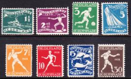 NVPH 212-219 Olympiade 1928 Postfris cataloguswaarde 200.00