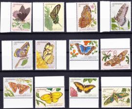 ZNB  356-367 Vlinders 1983 Cataloguswaarde 14,00