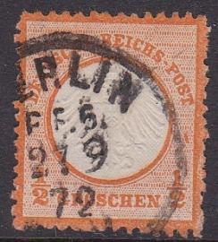 Mi    3 Freimarken: Adler mit kleinem brustschild Gebruikt / Used Cataloguswaarde: 55,00 E-2086