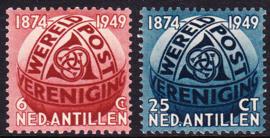 NVPH  209-210 Wereldpostvereniging UPU Postfris cataloguswaarde: 12.00  E-8110
