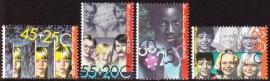 NVPH  1232-1235  Kinderzegels 1981 Postfris