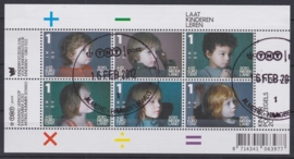 NVPH 2776  Kinderpostzegels 2010  Gestempeld cataloguswaarde 7,20 A-0822