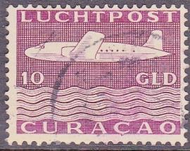 NVPH LP84 Vliegtuig gebruikt cataloguswaarde: 40.00  E-2031