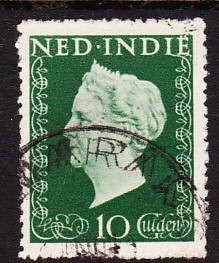NVPH  345   Stempel Dubbel afdruk cataloguswaarde 19.30 E-3185