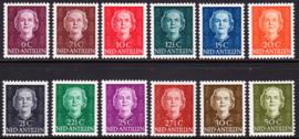 NVPH  218-229 Koningin Juliana ''en face'' Postfris cataloguswaarde: 85.00  E-8314