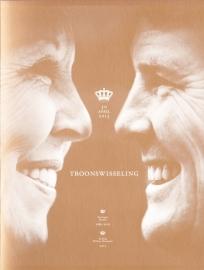 Herinneringsmapje met V3054 +V3066 Koning Willem-Alexander Postfris