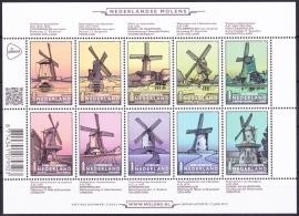 NVPH V3069-3078 Nederlandse Molens Postfris  A--0497