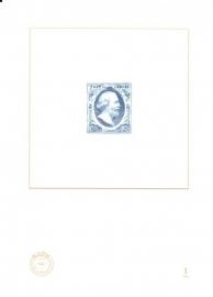 NVPH BD1 Blauwdruk 1 2004 Cataloguswaarde 5,00
