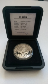 20 Euro 1996 Willem Barentsz  Zilver  (Proof)