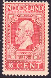 NVPH   92 Jubileum 1913 Postfris Cataloguswaarde 3.00