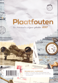 NVPH catalogus  Noodstempels en plaatfouten (P) 2017