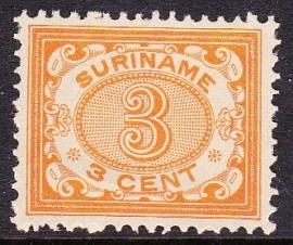 NVPH 45 Cijferzegels Postfris Cataloguswaarde 27.50 E-1524