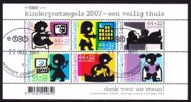 NVPH 2527 Kind 2007  Gebruikt   CW 7.20