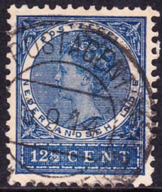 Ned-Indie NVPH 49 met stempel Postagentschap