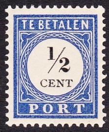 NVPH P13 Port  Ongebruikt  Cataloguswaarde 0,50    E-0039