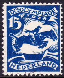 Plaatfout   218 PM9  Olympiade 1928  Gebruikt