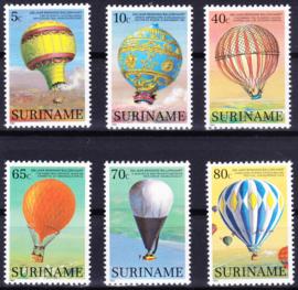 ZNB  368-373 Luchtballonnen 1983 Cataloguswaarde 7,00