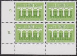 Plaatfout  1308 PM IN BLOK VAN 4 Postfris  Cataloguswaarde 12,00  E-7700
