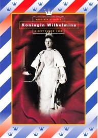 Herinneringsmapje:  Koningin Wilhelmina