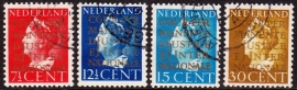 NVPH  D16/19 Dienstzegels gebruikt CW 40.00  E-2053