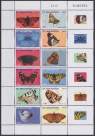 NVPH    53-64 Vlinders  Postfris  A-0480