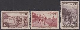 Mi:  348-350 Postfris Cataloguswaarde 6,50 E-5527
