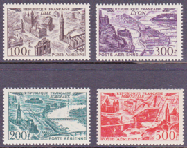 Mi:  24-27 LUCHTPOST Postfris  Cataloguswaarde: 116,00 E-7707