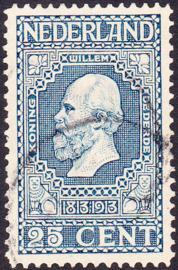 NVPH   96 Jubileum 1913 gebruikt cataloguwaarde 10.00