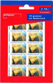 NVPH 1766 Hangzakje ''10 roeten uit Nederland Postfris