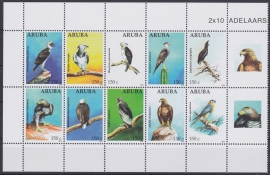 NVPH  584-593 Vogels Postfris  2012 A-0871