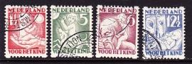 NVPH R86/89 Roltanding Gebruikt Cataloguswaarde 35.00  E-1367