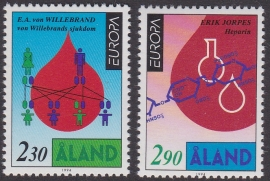 Åland 1994 Mi: 86-87  Postfris / MNH  Cataloguswaarde: 3,50 E-4333