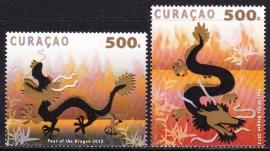NVPH    73-74 Jaar van de draak Curacao 2012 Postfris E-2054