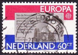 Plaatfout  1207 PM   Gebruikt Cataloguswaarde 6.00 (staat te laag!)  E-3034