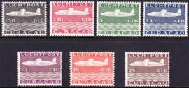 NVPH LP82-88 Vliegtuigen Ongebruikt  cataloguswaarde: 525.00