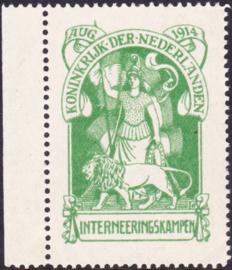Internering IN1 origineel Postfris positie 14 Cataloguswaarde 400.00