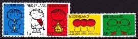 NVPH  932/936 Kinderzegels Dick Bruna Postfris