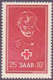 Saarland Mi: 292 Ongebruikt / MH E-7968