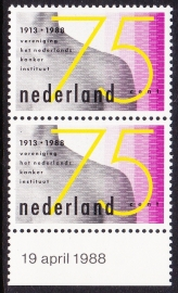 Plaatfout  1403 PM Postfris  Cataloguswaarde 12,00  E-3344