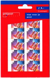 NVPH 1793a Hangzakje ''tien voor je post'' Postfris