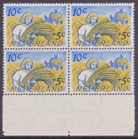 Plaatfout   516  PM4   Postfris   in blok van 4  E-6174