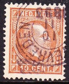 NVPH 9 Koning Willem 3 Gebruikt Cataloguswaarde: 0,50 E-0046