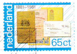 Plaatfout 1222 P op FDC E192 Blanco open klep cataloguswaarde 35,00