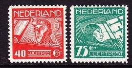 Luchtpost LP 4/5  postfris  Cataloguswaarde  2.00 E-2989