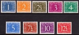 NVPH 1-9 van Krimpen Postfris cataloguswaarde 16,00 E-0898