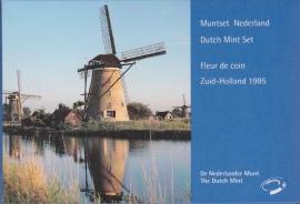 Jaarset 1995 Koninklijke Ned. Munt in boekvorm FDC
