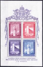Vaticaan Blok 2  Postfris cataloguswaarde 27,50 A-0462