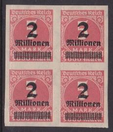 Mi 312b complete mistanding in blok van 4  Postfris Cataloguswaarde: --.-- E-0874