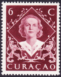 Curacao Plaatfout  198 P Postfris
